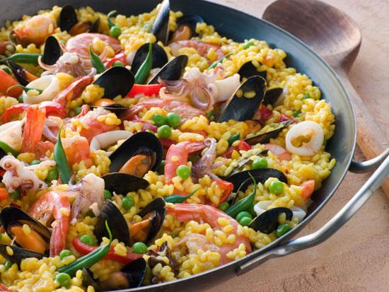Блюда испанской кухни названия